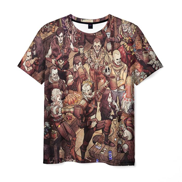 Merch Men'S T-Shirt Design Clothes Witcher Print