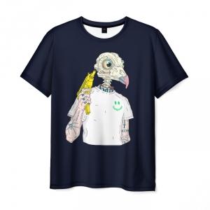 Merchandise Men'S T-Shirt Uzi Gta Game Print Black