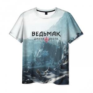 Merch Men'S T-Shirt Witcher Print Apparel Merch