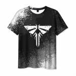 Collectibles Men'S T-Shirt Black Image The Last Of Us Title