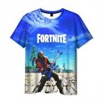 Collectibles Men'S T-Shirt Apparel Scene Fortnite Print