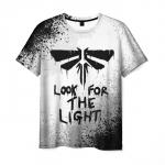 Merch Men'S T-Shirt Merch White The Last Of Us Sign