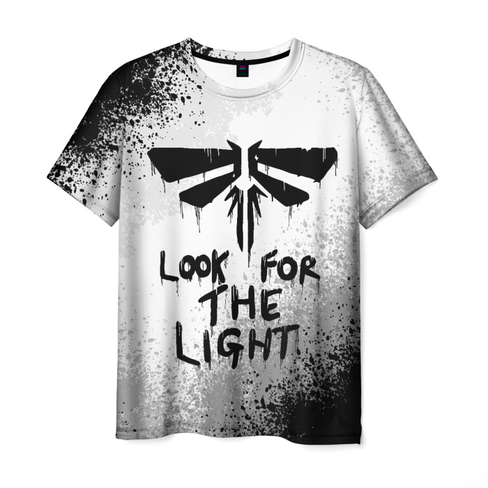 Merchandise Men'S T-Shirt Merch White The Last Of Us Sign
