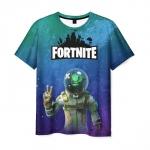 Collectibles Men'S T-Shirt Gradient Levithan Fortnite Print