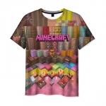 Collectibles Men'S T-Shirt Minecraft Game Design Print