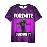 Merchandise Men'S T-Shirt Print Fortnite Purple Design