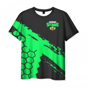 Collectibles Men'S T-Shirt Brawl Stars Merchandise Black Text