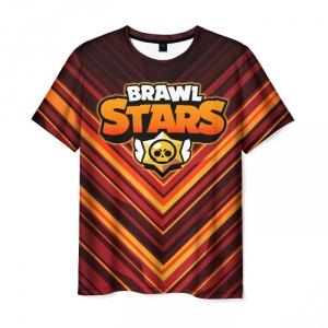 Collectibles Men'S T-Shirt Brown Brawl Stars Print Design