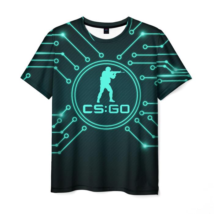 Merchandise Men'S T-Shirt Print Counter Strike Apparel Merch
