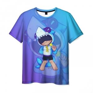Collectibles Men'S T-Shirt Hero Print Brawl Stars Leon
