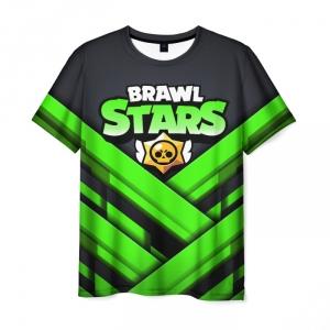 Collectibles Men'S T-Shirt Brawl Stars Print Text Black