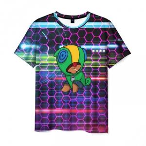Collectibles Men'S T-Shirt Hero Clothes Brawl Stars Leon