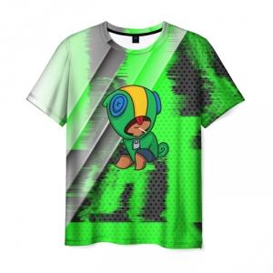 Collectibles Men'S T-Shirt Print Brawl Stars Leon Apparel