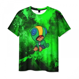 Collectibles Men'S T-Shirt Brawl Stars Leon Merchandise Design