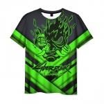 Collectibles Men'S T-Shirt Cyberpunk 2077 Toxic Green Merch