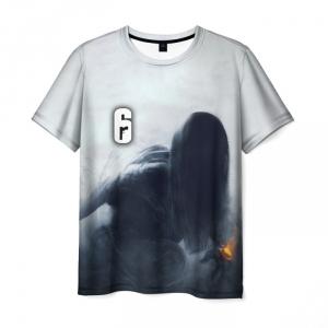 Collectibles Men'S T-Shirt Rainbow Six Siege Nokk Print