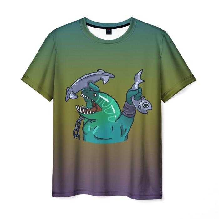 Merchandise Men'S T-Shirt Leviafan Tidehunter Dota Green