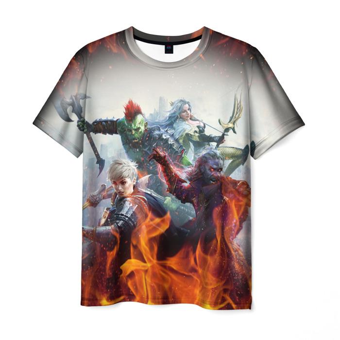 Merchandise Men'S T-Shirt Raid Shadow Legends Scene Clothes
