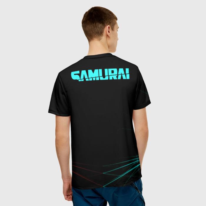 Collectibles Men'S T-Shirt Samurai Cyberpunk 2077 Image Merch