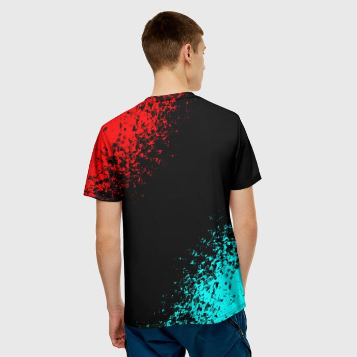 Merch Men'S T-Shirt Cyberpunk 2077 Samurai Merch Print