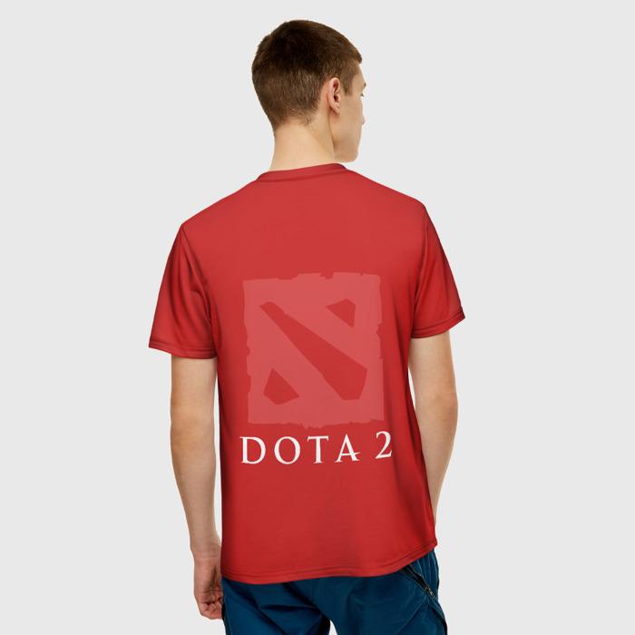 Merch Men'S T-Shirt Bloodseeker Dota Red Print