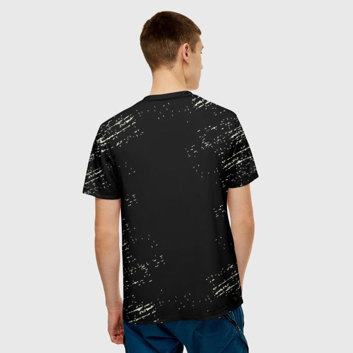 Merchandise Men'S T-Shirt The Last Of Us Merchandise Black