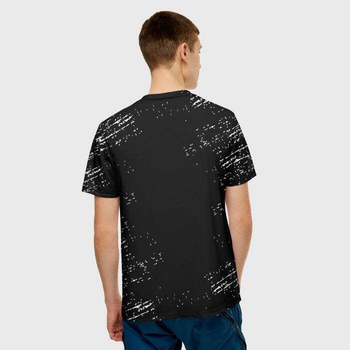 Merch Men'S T-Shirt The Last Of Us Print Design Black