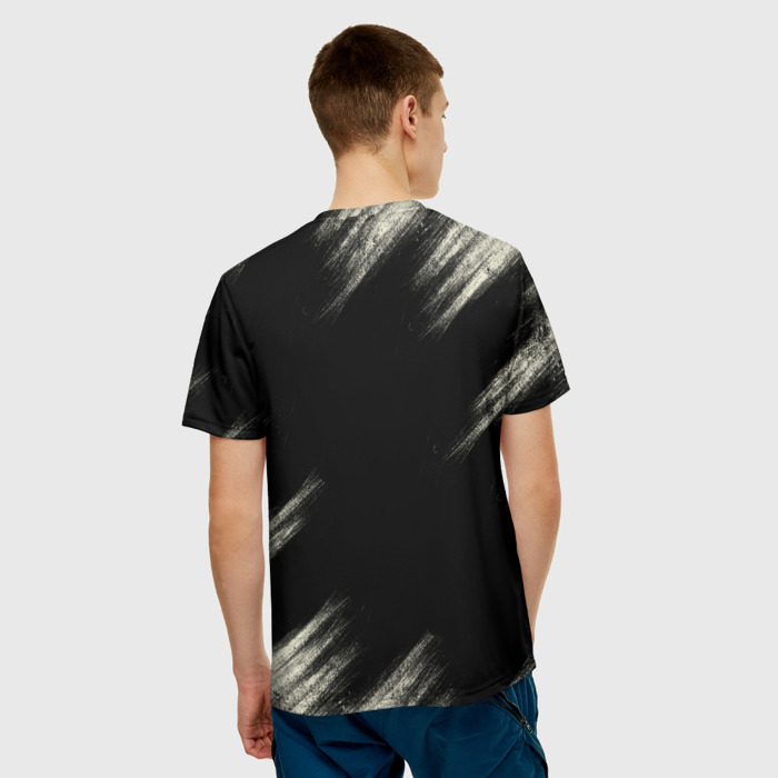 Collectibles Men'S T-Shirt The Last Of Us Text Black Print