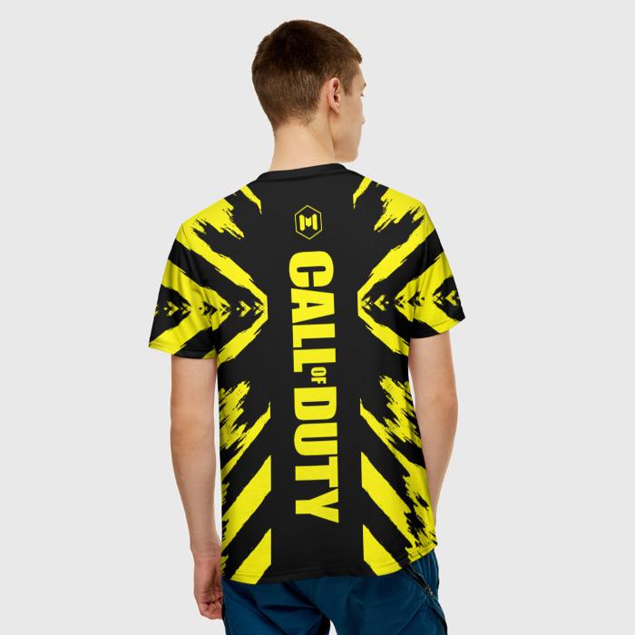 Merch Men'S T-Shirt Print Mobile Call Of Duty Lable