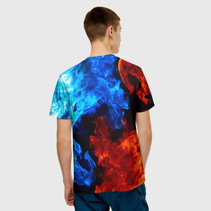 Merchandise Two Flames Men T-Shirt Rainbow Six Siege