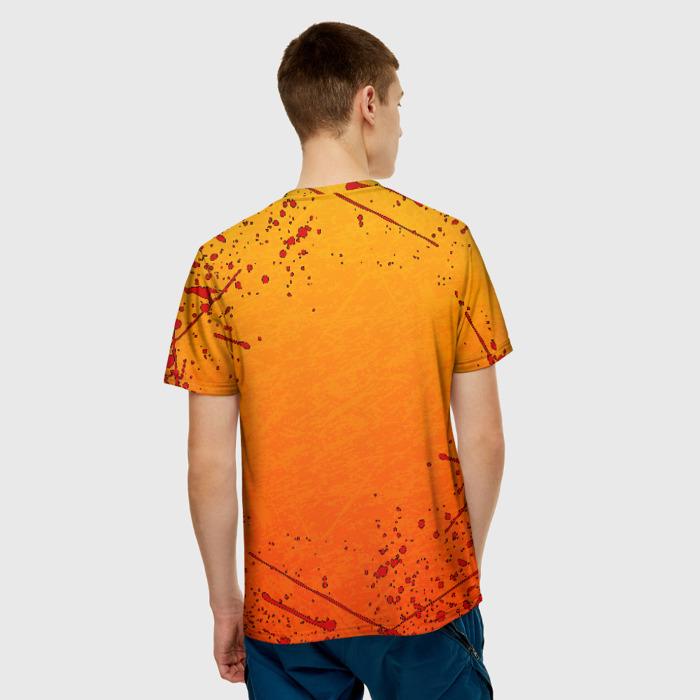 Merch Orange T-Shirt Borderlands Blots Logo