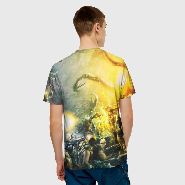 Merch Men'S T-Shirt Gears Of War 5 Scene Picture Game