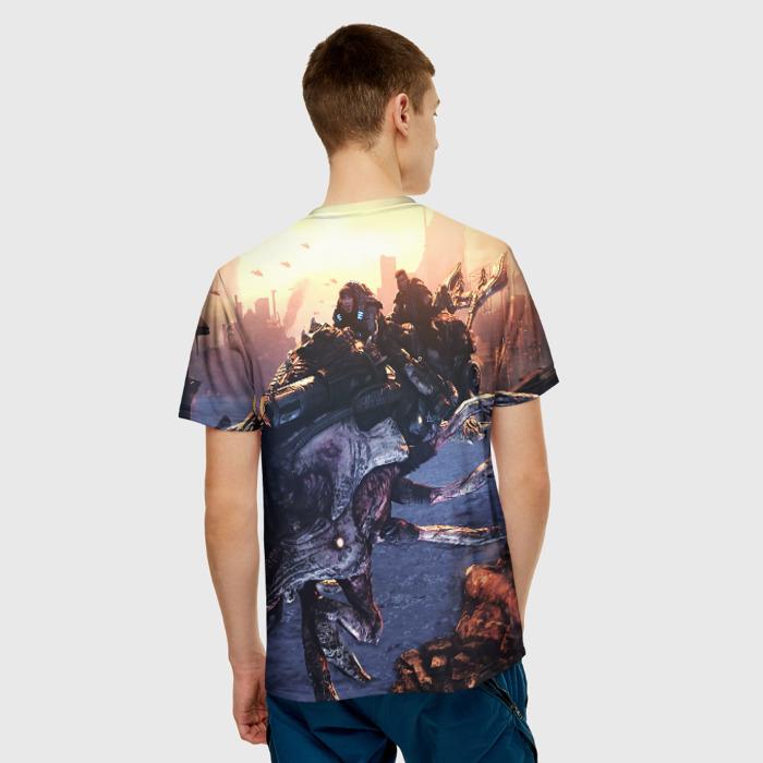 Merchandise Men'S T-Shirt Gears Of War 5 Scene Print Design