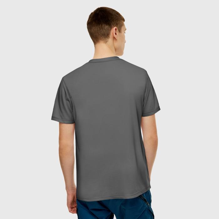 Merch Men'S T-Shirt Face Print Stalker