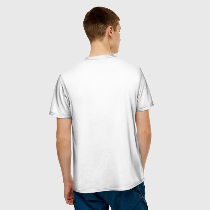 Collectibles Men T-Shirt Design Stalker White Image