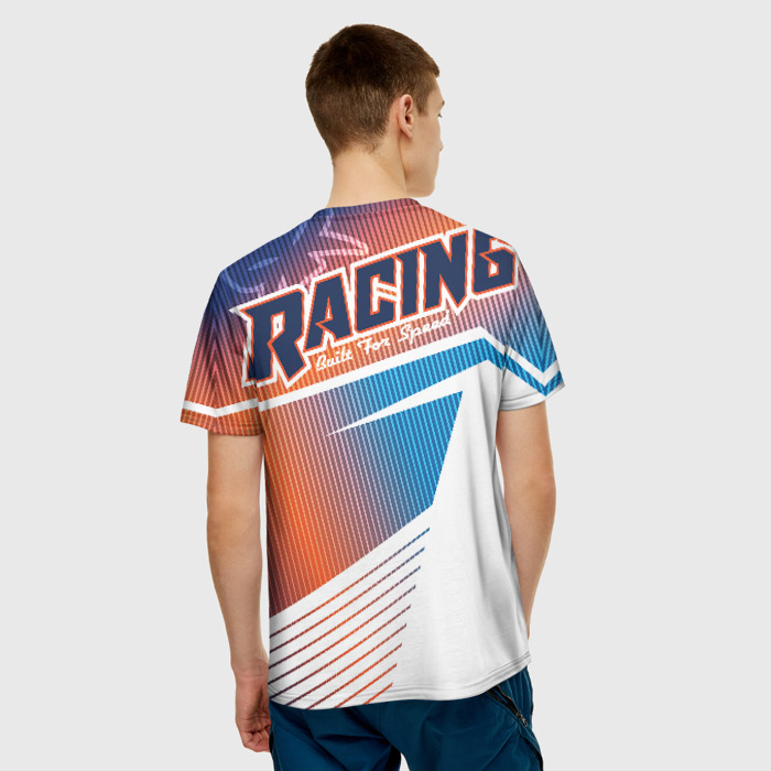 Merch Men T-Shirt Need For Speed Game Print Text