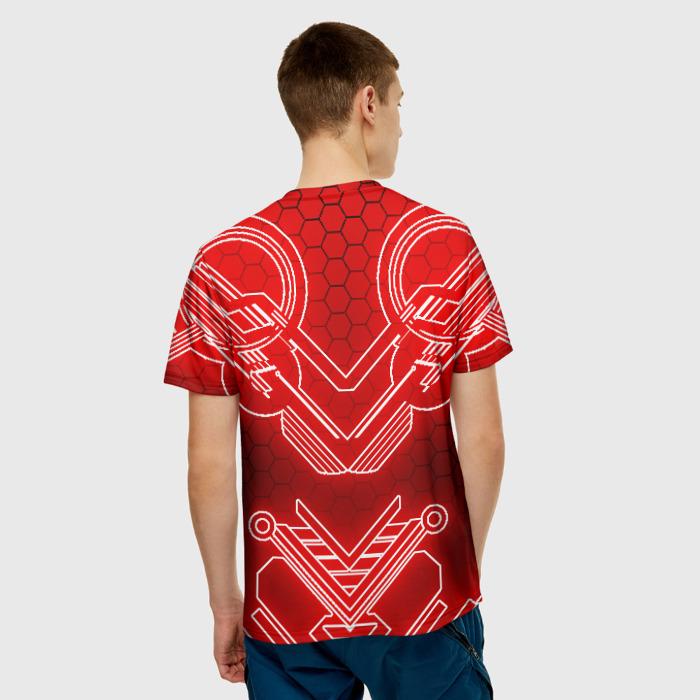 Collectibles Men T-Shirt Red Sign Cyberpunk 2077