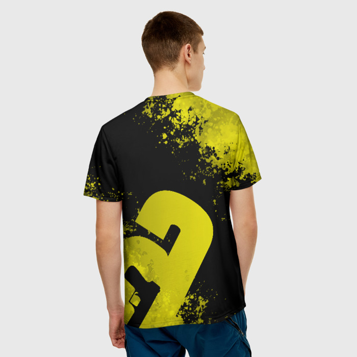 Collectibles Men'S T-Shirt Number Picture Rainbow Six Siege Merch