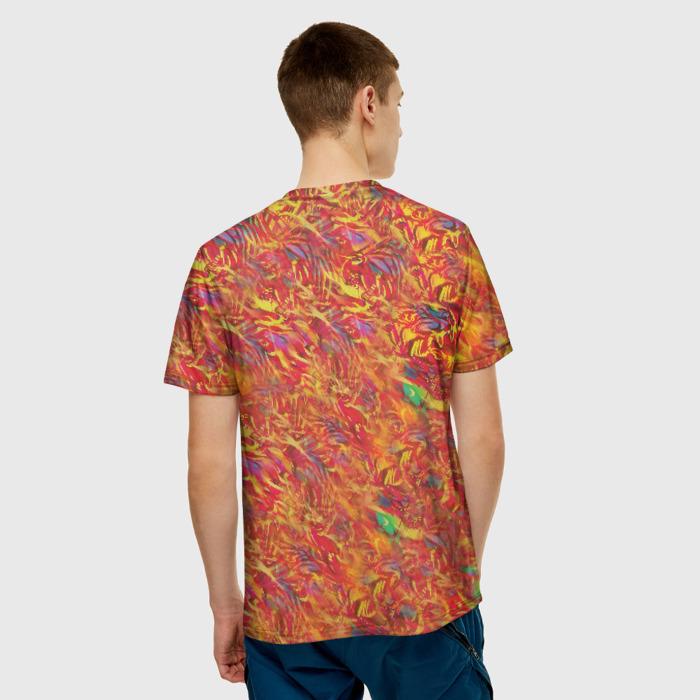 Merch Men'S T-Shirt Face Prnit Wrong Number Hotline Miami