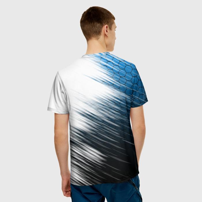 Merch Men'S T-Shirt Outline Graphic Rainbow Six Siege Print