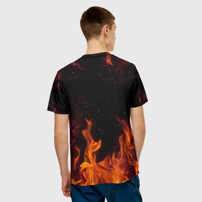 Merch Men'S T-Shirt Game Doom Sign Print Slayer