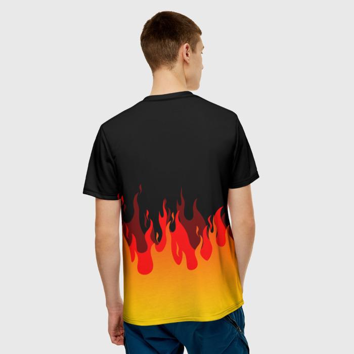Merch Men'S T-Shirt Emblem Print Rainbow Six Siege Merch