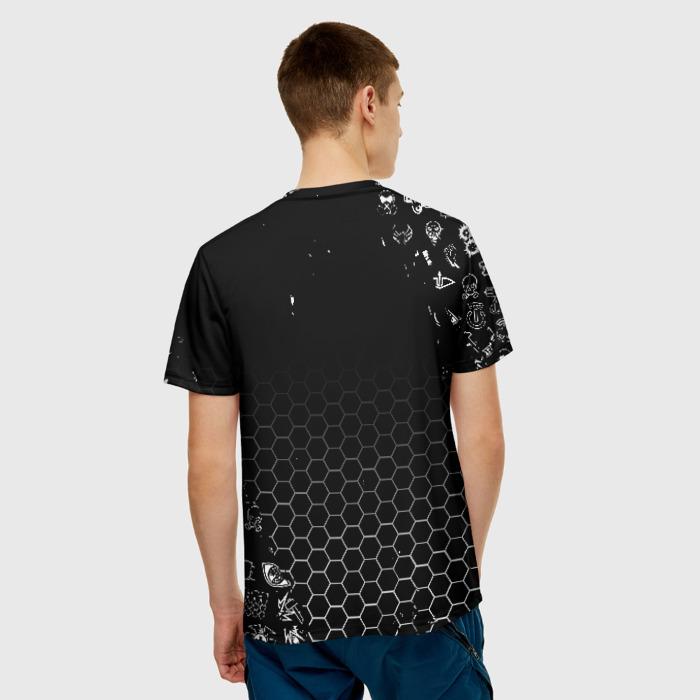 Merchandise Men'S T-Shirt Graphic Black Rainbow Six Siege Merch