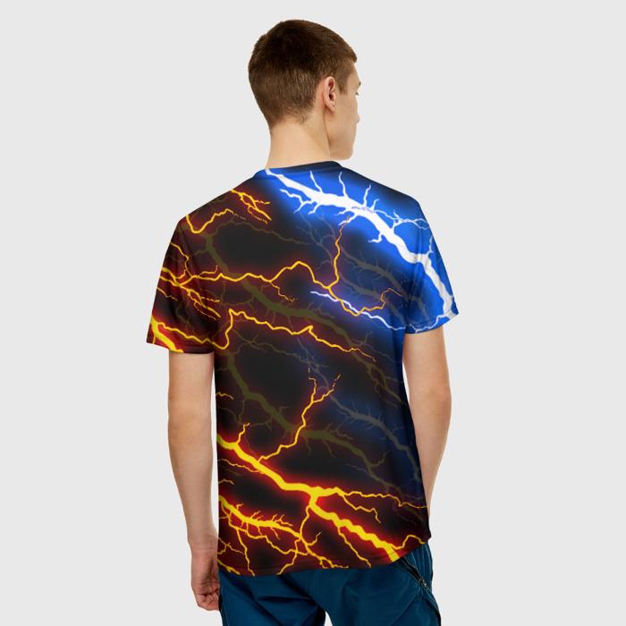 Merchandise Men'S T-Shirt Lighting Design Doom Slayer Print
