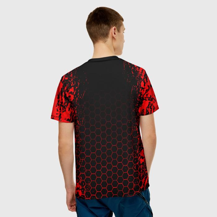Merch Men'S T-Shirt Game Print Rainbow Six Siege Text