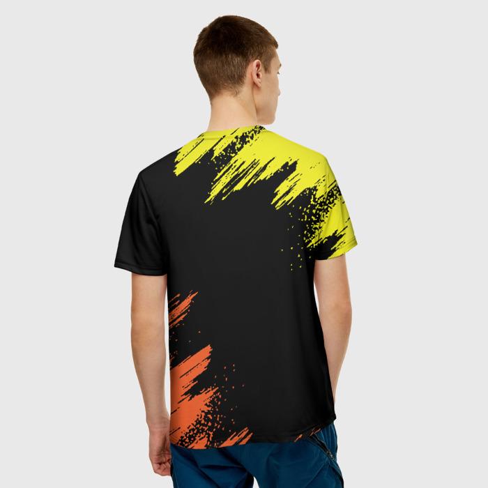 Merchandise Men'S T-Shirt Merchandise Black Samurai Cyberpunk