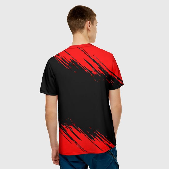Merch Men'S T-Shirt Number Print Rainbow Six Siege Label