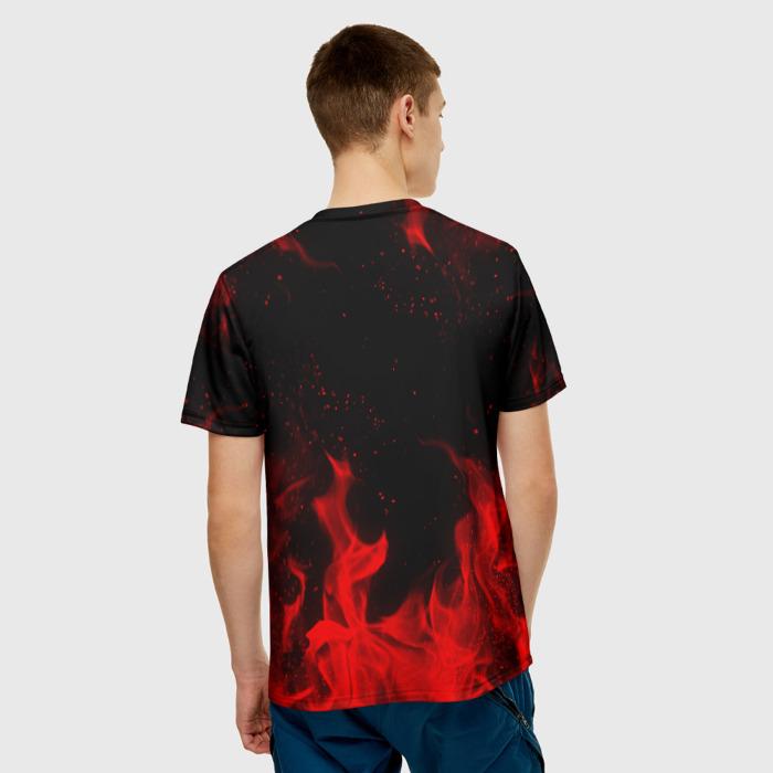 Merchandise Men'S T-Shirt Emblem Text Game Rainbow Six Siege