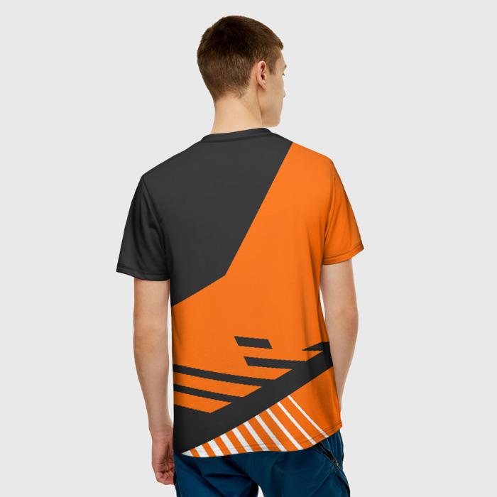 Collectibles Men'S T-Shirt Merch Watch Dogs Orange Print