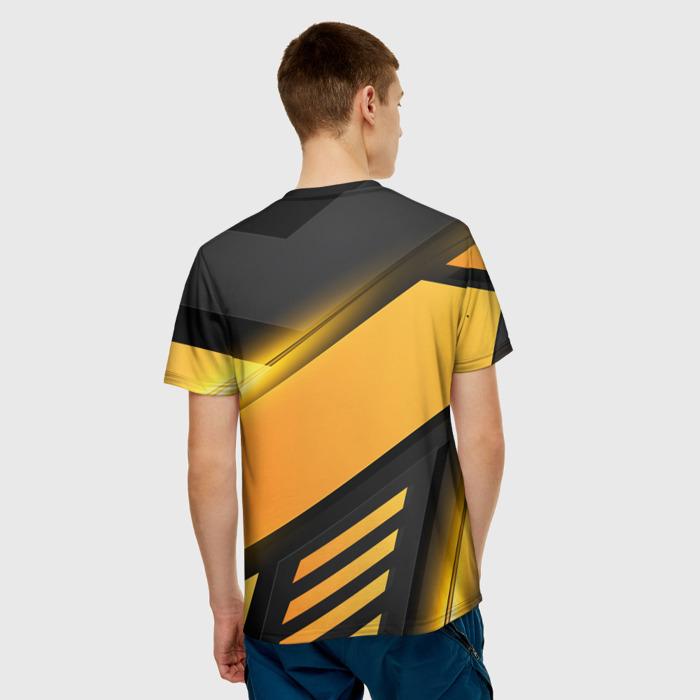 Merchandise Men'S T-Shirt Outline Orange Game Stalker